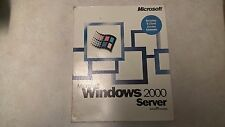 Microsoft Windows 2000 Server software PC CD-ROM retail full version