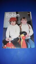 Robin Aran Children's Sweater Knitting Pattern 2774