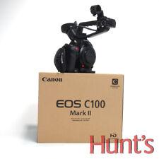 CANON EOS C100 MARK II EF MOUNT CAMERA w/SUPER 35mm 8.3MP SENSOR **5 HOURS USE**