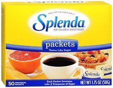 SPLENDA Sweetener Packets 50 Each