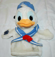 "11"" VINTAGE APPLAUSE DONALD DUCK PLUSH HAND PUPPET"