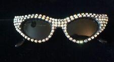 Mercura Vintage Sunglasses Italy Ab Rhinestones*Fabulous*
