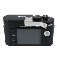 Thumbs Up Grip Add-on Rest for Leica M M-P Typ240 Camera Better Balance Silver