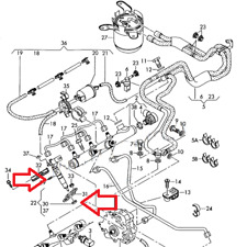 Bosch injector seal rings + o-ring Audi VW 2.7tdi 3.0tdi V6 059130519 WHT000884