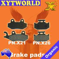 FRONT REAR Brake Pads KAWASAKI KX 250 G1 H1 H2 J1 J2 1989 1990 1991 1992 1993