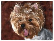 artav Yorkshire Terrier 06 Art Print Dog Puppy Painting