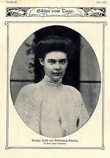 Herzogin Cecilie von Mecklenburg- Schwerin * Hohenzollen und Mecklenburg...1904