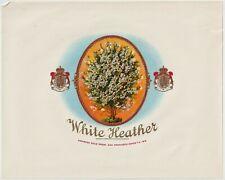 White Heather - Cigar Box Label