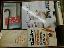 45 Bücher Hardcover Romane Sachbücher verschiedene Themen Paket 1