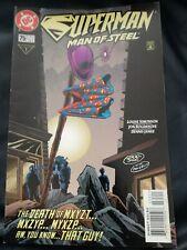 Superman The Man Of Steel #75 Jan 1998