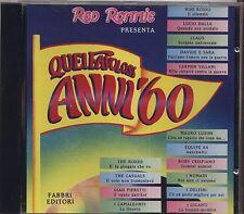 Quei favolosi anni '60 1966 vol.5 - NINI ROSSO LUCIO DALLA CLAUS I DELFINI - CD