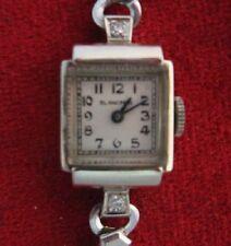 Vintage 14K W/G  Ladies Blancpain / Bucherer
