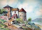 Carte Postale illustrateur Barday - Monument, Paysage