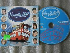 CD-NOUVELLE STAR-J'IRAI CHANTER-M6-SONY MUSIC-VOGUE-NINJA-(CD SINGLE)06-2TRACK