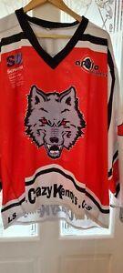 Ice Hockey shirt player worn size XL (a)