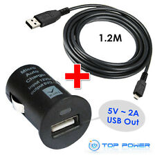 FT Aiptek Asus Acer Kindle 1 HTC gps mp3 cell phone AC Adapter Auto Car Charger