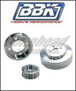 BBK Performance 1554 Aluminum Underdrive Pulley Kit 1994-1995 Ford Mustang GT