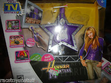 HANNA MONTANA PLUG N PLAY TV GAMES SET- INCLUDES CONTROLLER AND RECEIVER. MIB