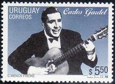SELLOS  CINE. URUGUAY 1995 1520 CARLOS GARDEL 1v.