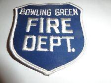 LAW ENFORCEMENT PATCH BOWLING GREEN KENTUCKY FIRE DEPARTMENT