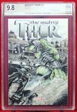 THOR vs. HULK PGX (not CGC) 9.8 NM/MT Original Cover Sketch CHAD KNOPF RAGNAROK!