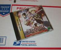 Albert Odyssey: Legend of Eldean (Sega Saturn, 1997) Complete CIB NTSJ IMPORT