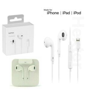 Genuine EarPods For iPhone 7 8 X XS 11 12 Pro Max Headphones EarPhones Handsfre