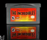 The Incredibles [Nintendo Game Boy Advance GBA Disney Pixar Heroes Action Game]