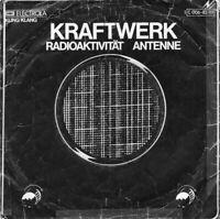 """KRAFTWERK ~ Radioaktivitat ~ 1976 German 2-trk 7"""" vinyl single in picture sleeve"""