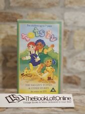 Tots Tv THE NAUGHTY PUPPIES & OTHER STORIES VIDEO VHS 6 Stories ,Ragdoll, TBLO