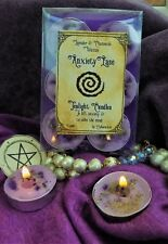 Ease Anxiety Six Tea Lights Boxed Wiccan Handmade Witchcraft Lavender Chamomile