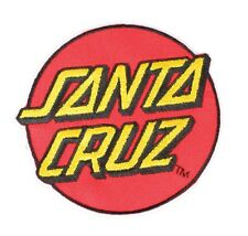 Santa Cruz Classic Dot Skateboard Patch 3.25in Adhesive Iron on Patch si