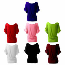 Unbranded Women's Plus Size Short Sleeve Sleeve Cotton Blend Tops & Shirts