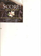 SCORE ! OPERA TO DIE FOR (AS FEATURED IN JILLY COOPERS NOVEL)  (2 CD)