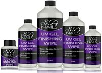 UV Nail Gel Finishing Wipe, Sticky Residue Remover, Cleanser, Brush Cleaner