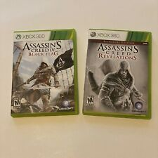 Assassins Creed Black Flag & Assassins Creed Revelations Xbox 360