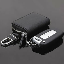 Auto Car Key Case Leather Pouch Remote Keychain Key Coin Storage Holder Bags