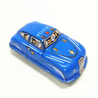 2 Sizes Retro Vintage Wind-up Car Modesl Clockwork Tin Toys Kids Collectibles