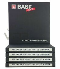 "New BASF SM911 Reel to Reel Audio Recording Tape 1200ft.   ¼"" x 7"" / 18cm"