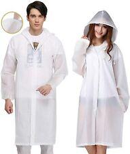 Rain Poncho for Adults, 2 Pack Reusable Raincoat Emergency Rain Gear Jacket