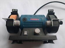 120W Mini Bench Grinder Machine Ferrex Used with 2 stones