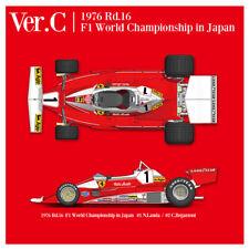 Model Factory Hiro K706 1:12 312T2 1976 Ver.C Rd.16 F1 Wold Championship Japan
