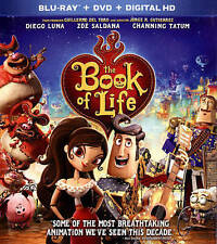 Book of Life, The Blu-ray New DVD! Ships Fast!