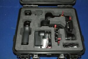 CAME TV OPTIMUS 3 AXIS GIMBAL AND CASE USED ONCE. READ DESCRIPTION.