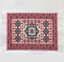 Miniature Dollhouse Carpet Rug Floor Mat 16CM*10CM #OR301