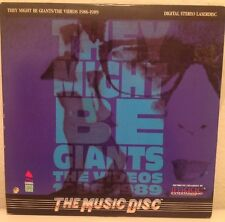 THEY MIGHT BE GIANTS THE VIDEOS 1986-1989 LASERDISC IMAGE