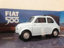 Fiat 500 classica Mondo Motors scala 1:24 celeste chiaro nuova modellino