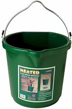 New listing 5 Gallon Water Heater Bucket Dogs Large Pets 120 watts w/ Thermostat Flat Back