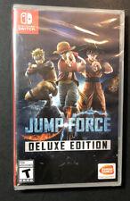 Jump Force [Edición de Lujo ] (Nintendo Interruptor) Nuevo