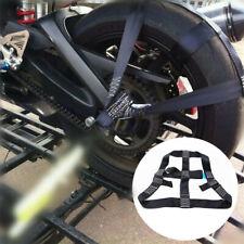 Klemmschloss schwarz Motorrad JMP Zurrgurt 25mm//3m